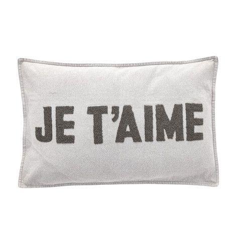 French Gray Cushion