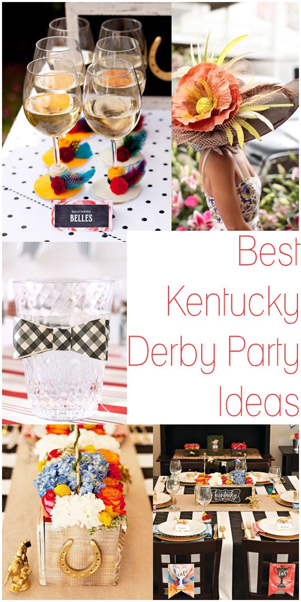 The Style Next Door: Plan the Perfect Kentucky Derby Party