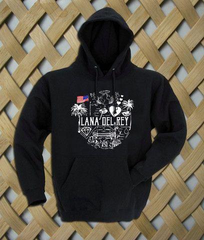 Lana Del Rey Quote Hoodie #shirt #tanktop #tops #tees #tee  #graphictees #tumblrshirt #hoodie #unisex clothing