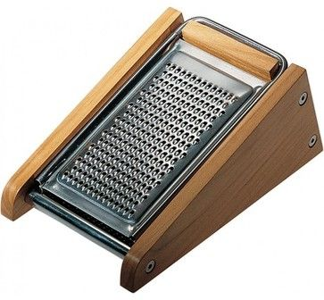 Alessi Grater with Cheese Cellar - modern - Graters And Peelers - LBC Modern