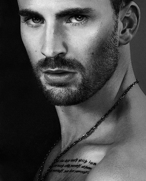 Chris Evans...I just can't even...OMG! <3