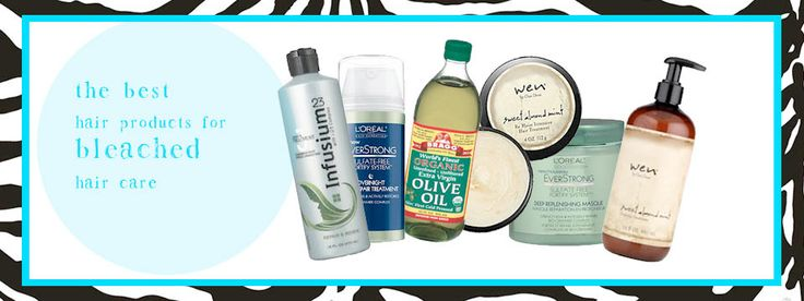 products how to repair bleached hair