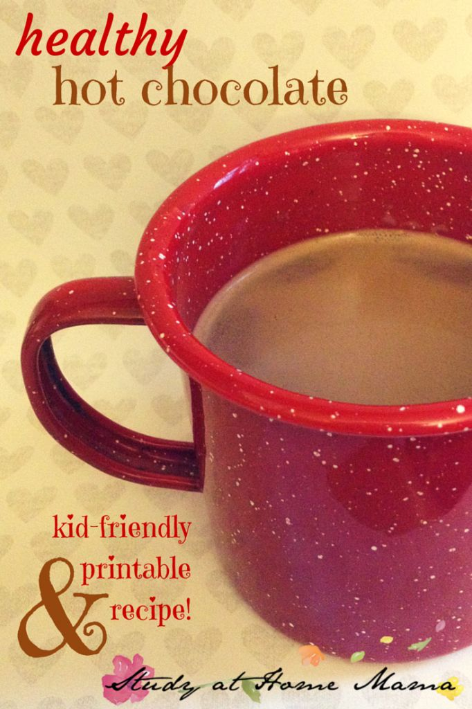 healthy hot chocolate recipe for kids