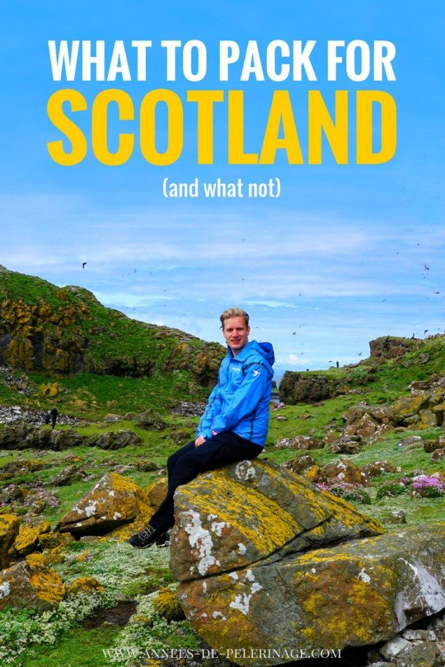A detailed packing list for Scotland. What to pack for Scotland. Warm weather, rain, or winter - this guide on what to bring to Scotland has you covered. Click for more information.