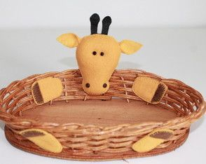 Cestinha - Girafa Basket Giraffe - party favor