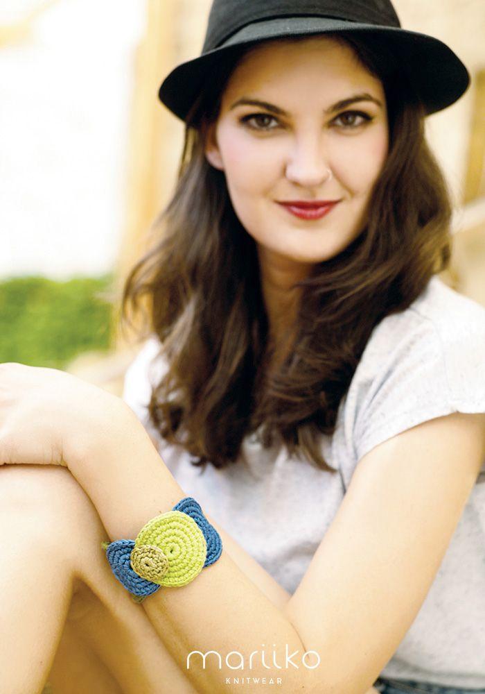 Cowgirl crochet barcelet from Mariiko www.mariiko.com