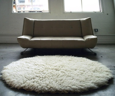 white circle fluffy rug. the best 8\u0027 round white flokati rug made: ultra-thick 4000gram/long thick pile circle fluffy