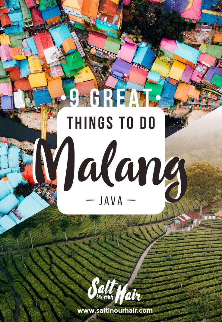 Malang 9 X Things To Do In Malang Indonesia Best Stop Before Bromo Things To Do Malang Rainbow City