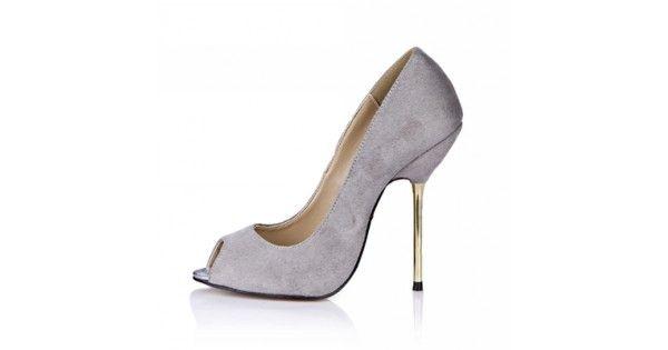 Sexys Zapatillas Tacón de Aguja para Dama