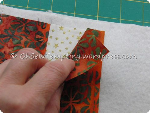 quilt as you go mug rug tutorial - ohsewtempting