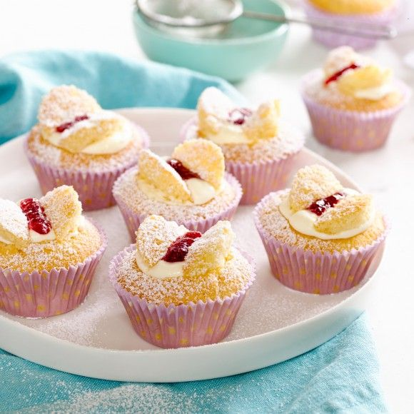 Collect this Vanilla Butterfly Cakes recipe by Western Star. MYFOODBOOK.COM.AU | MAKE FREE COOKBOOKS