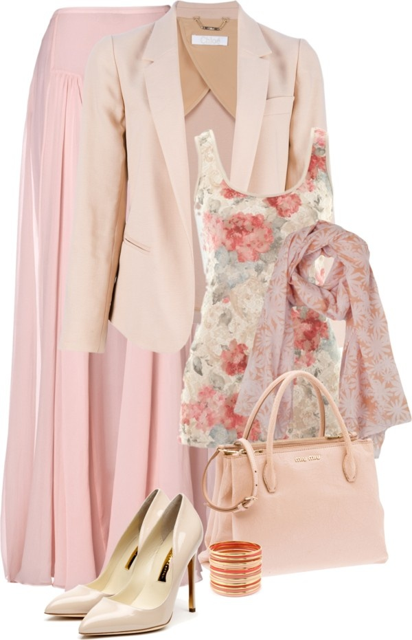 """hijab chic #1"" by intan-indie ❤ liked on Polyvore"