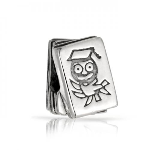 Wise Owl Books Charm Harry Potter Fan Bead 925 Silver Fits Pandora