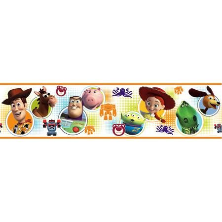Disney - Peel & Stick Wall Border, Toy Story 3