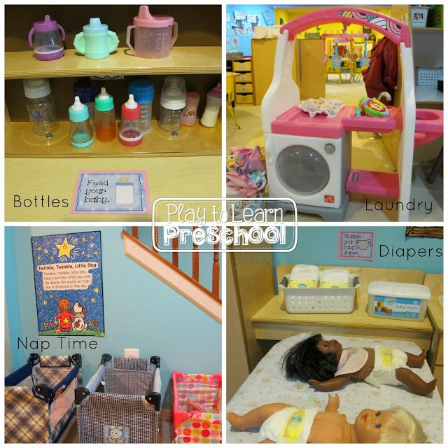 Baby Nursery Set Up For The Dramatic Play Center Prek Tools Of Mind Pinterest And Centers