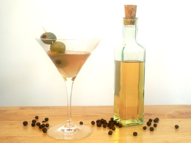 When it comes down to it, gin is basically a neutral spirit flavored with juniper berries and a bunch of other stuff. So while it might seem like putting a bunch of berries and herbs in vodka couldn't possibly result in a drinkable gin, you definitely can make a gin just as complex and delicious as what you'll find at the liquor store.