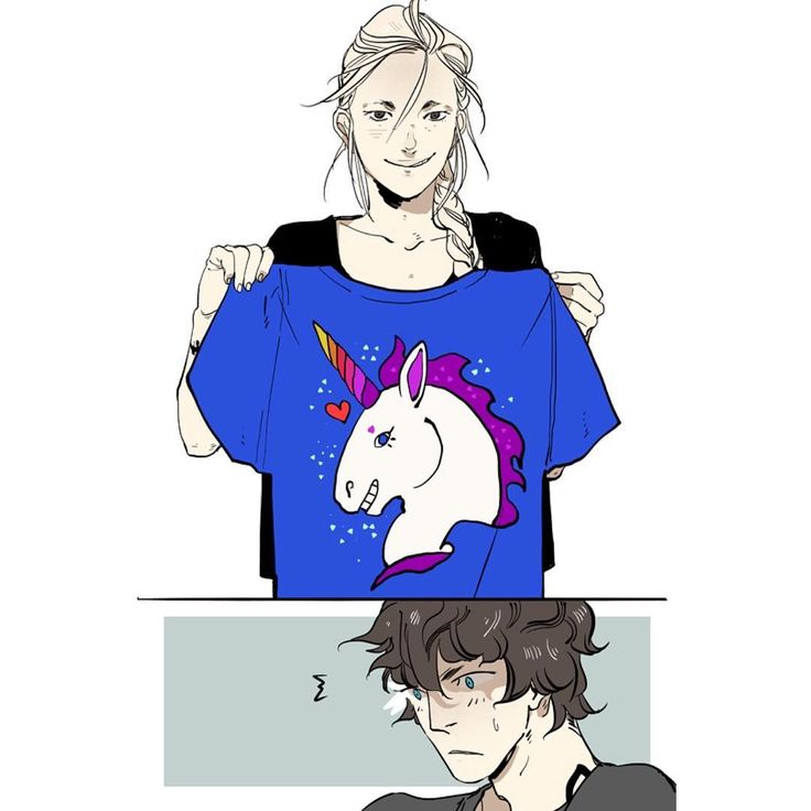 """Emma was grinning. She produced a blue and purple t-shirt emblazoned with a smiling unicorn for Jules"" - Lord of Shadows"