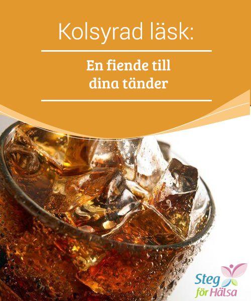 Kolsyrad läsk: En fiende till dina tänder  Även om #kolsyrad läsk smakar väldigt bra kan den #vara ganska skadlig för vår kropps hälsa. Den kan #också utgöra en hel del risker för våra tänder oavsett om den #innehåller sötningsmedel eller inte.