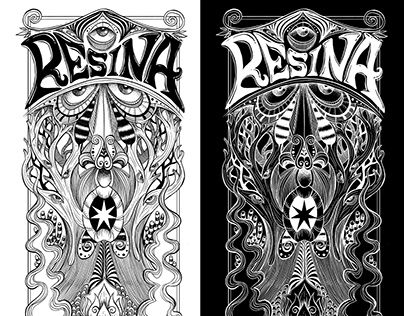 "Check out new work on my @Behance portfolio: ""Resina Band"" http://be.net/gallery/44686935/Resina-Band"