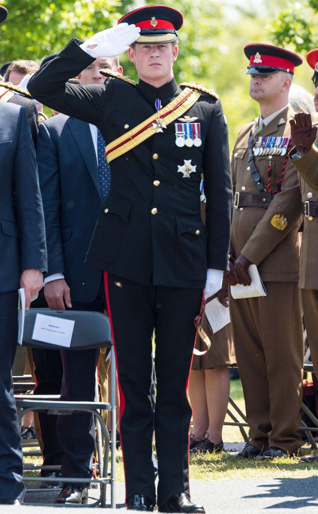 Prince Harry's Full-Time Service With the Army Comes to an End | E! Online