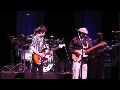 Buddy Guy and 12-year-old blues prodigy Hayden Fogle - terrific!