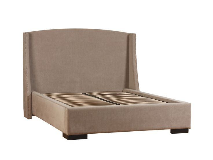 Logan bed available in custom fabrics and sizes