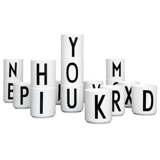 Design Letters cup