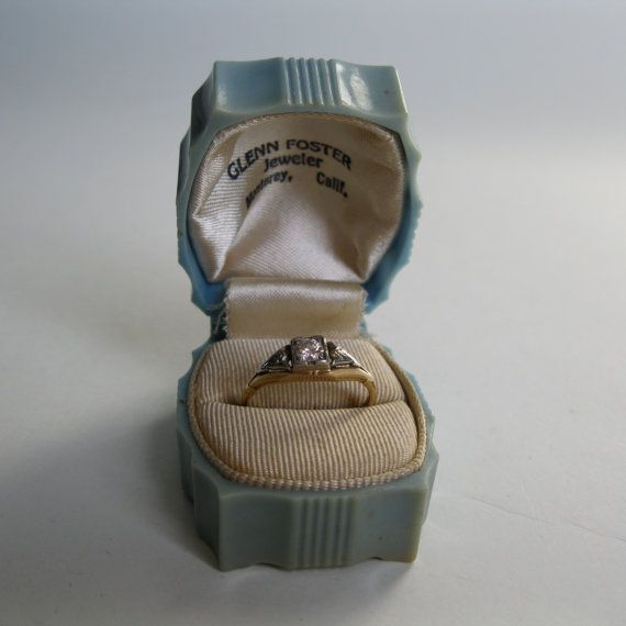 173 best Ring boxes images on Pinterest Antique rings Ring