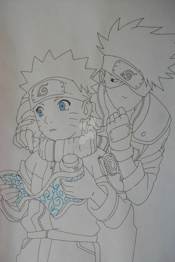 How to make your own female sonic character ehow - Naruto Uzumaki And Kakashi Hatake By Sakakithemastermind On Deviantart