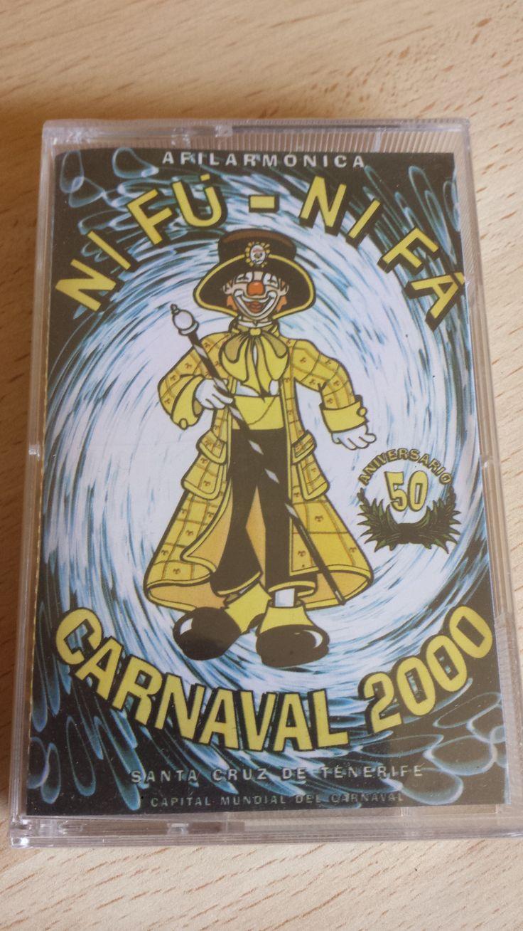 Vendo casete Afilarmónica Nifú Nifá, Carnaval de Santa Cruz de Tenerife. Cómpralo aquí: http://www.todocoleccion.net/casetes-antiguos/casete-afilarmonica-nifu-nifa-ano-2000-50-aniversario-carnaval-tenerife~x54263654