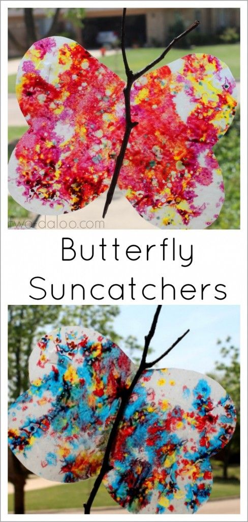 Brighten up your windows with these gorgeous butterfly suncatchers!