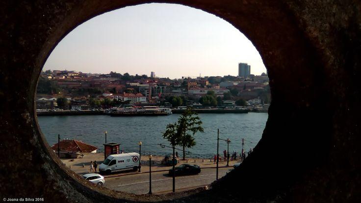 Douro River view from San Francisco Church, Oporto, Portugal