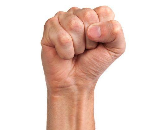 """Mushti Mudra """"Con las dos manos: doblar los dedos hacia dentro y colocar el pulgar sobre el anular.Practícalo según lo necesites. El Mushti Mudra activa la energía del hígado y del estómago, estimula la digestión y es de ayuda contra el estreñimiento también disuelve la ira y nos alivia cuando nos sentimos heridos o agredidos emocionalmente."""" Con las dos manos: doblar los dedos hacia dentro y colocar el pulgar sobre el anular. Practícalo según lo necesites."""