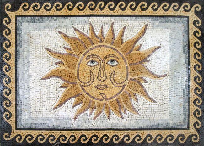 mosiac sun