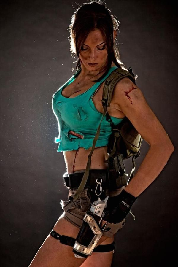 #Cosplayer Lara Croft