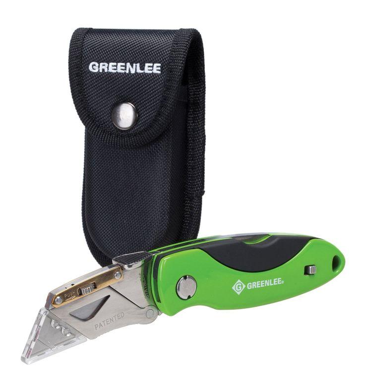 Greenlee 0652-23 Heavy-Duty Folding Utility Knife - Utility Knives - Amazon.com