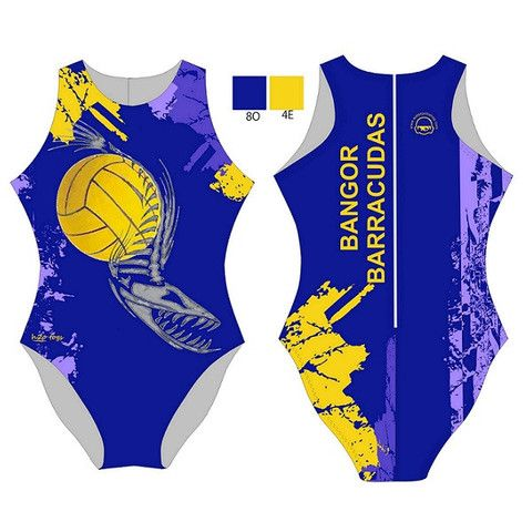 H2O TOGS Customised - Bangor Barracudas Womens Water Polo Suits #waterpolo #h2otogs #waterpoloshop #waterpololife #waterpologame #waterpoloteam #teamkit #customdesign #swimwear #customswimsuits