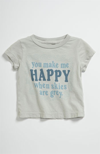 Peek 'Happy' Tee (Infant) | Nordstrom