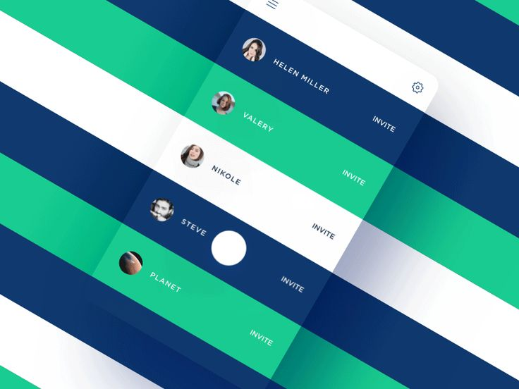 UI Interactions of the week #45: Invite me by Stan Yakusevich  for Heartbeat.UA