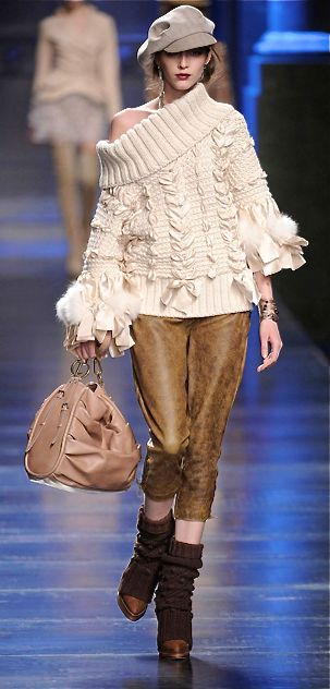 Christian Dior.... Love the boot coverage. Definitely inspiring.