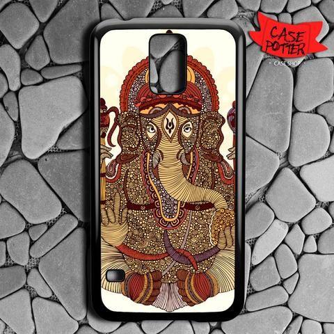 Ganesha Lord Of Success Samsung Galaxy S5 Black Case