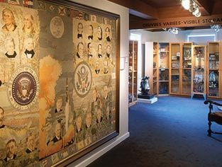 Les Trois Pignons - A view into Acadian culture and Chéticamp history, a collection of hooked rugs and antiquities, genealogy resource centre and library and a full range of services to visitors. http://lestroispignons.com/