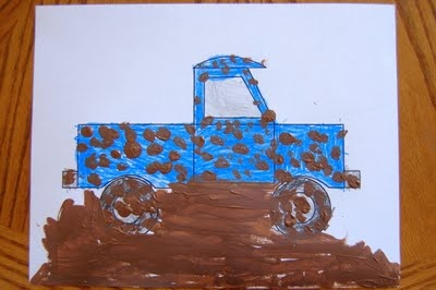 "I HEART CRAFTY THINGS: Story Time ""Little Blue Truck"" with Craft. Noble would live this."