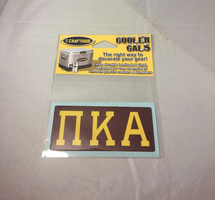 Pi Kappa Alpha PIKE Fraternity Cooler Cals - Brothers and Sisters' Greek Store