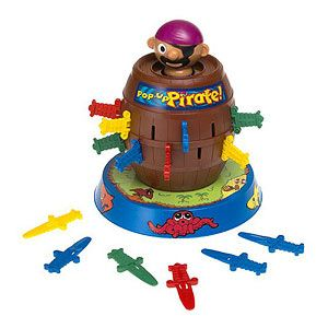 Toys for Kids With Special Needs: Pop-Up Pirate Game (Tomy) (via Parents.com)