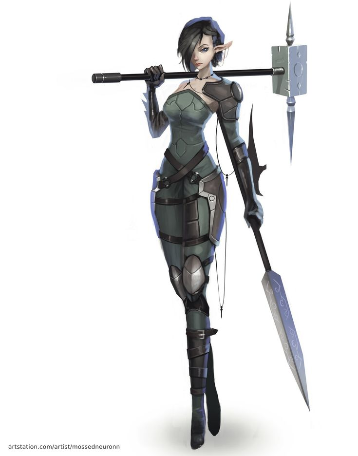 252 best images about art characters creatures on pinterest - Anime female warrior ...