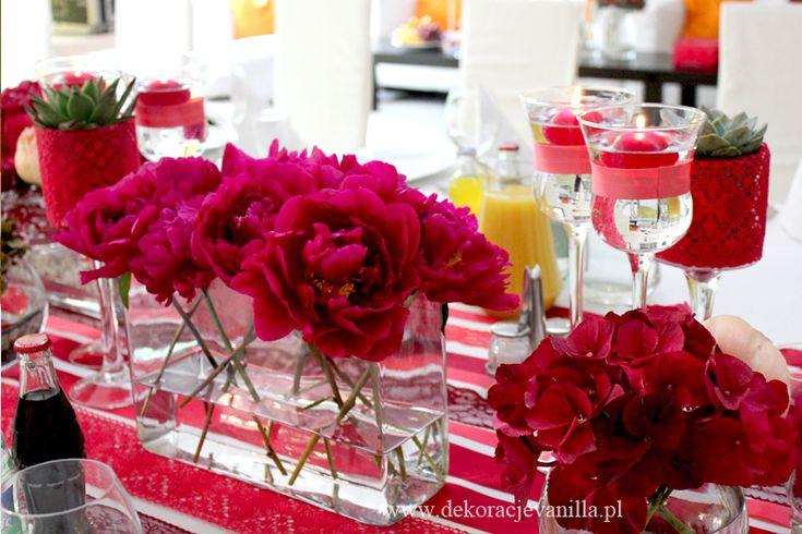 Dekoracja w Tiffany Cafe