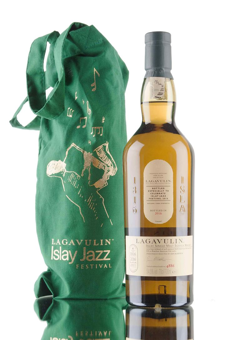 Specially selected by the legend that is - Iain McArthur, and bottled especially for the 2016 Islay Jazz Festival. A cask strength offering created from well matured refill American oak & first fill ex-bourbon American oak casks.