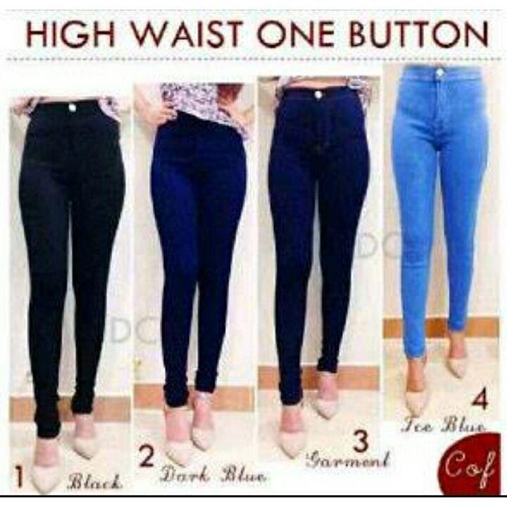 """""Celana jeans HW botton  Material: soft jeans Harga: 145 Size: 27-30 Order PIN CS1-5A1F32FA PIN CS2-5FI5DE72 & SMS/WA 087722-575-101  Reseller & Dropship Welcome!  Happy Shopping! :) #jamtangan #jamtanganwanita #jammurah #grosirjam #sweatercouple #flatshoes #jamtanganterbaru #resellerjamtangan #taswanita #sneakerscwe #celanajeansripped #jamtanganartis #olshop #wedgesterbaru #jaketjeans  #resellerwelcome #celanajeans #sepatubandung #celanajeanshw"