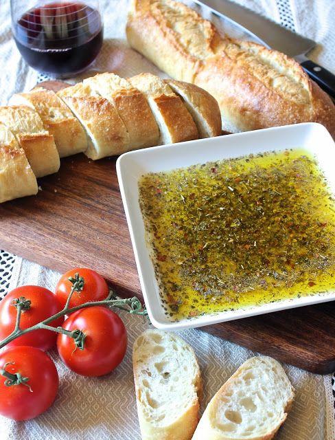 Italian Dipping Oil bread